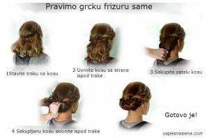 napraviti frizuru