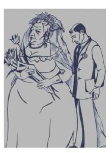 Žena starija od svog muža.