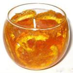 mirisljava sveca od narandze