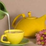 Mleko i zeleni čaj. Očistite organizam i smršajte. Jednodnevna dijeta.