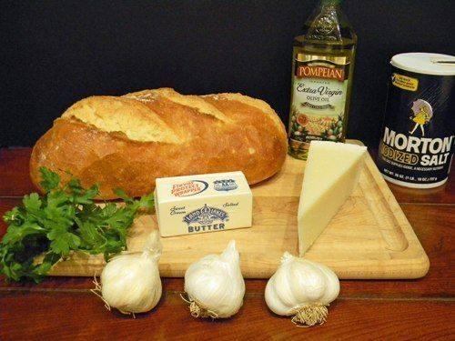 Zapečeni hleb sa belim lukom