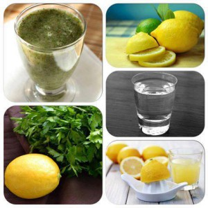 Sok od limuna i persuna. Cudo od soka - poboljšajte svoj imunitet, kosu i kožu.