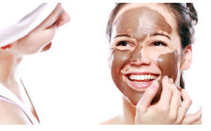 maske za lice od cokolade