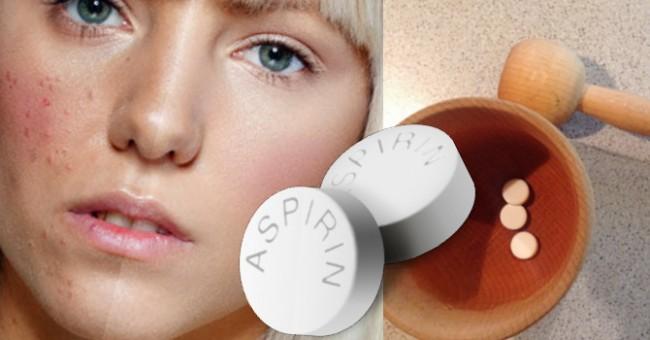 Aspirin za čistu i zdravu kožu lica.Čudesne maske za lice sa aspirinom