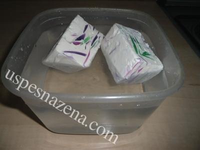 Domaći nežni sufle-sapun sa mlekom,medom i bademovim uljem. Napravite same.