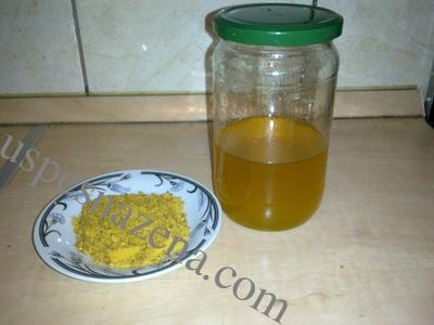 Lek sa medom i polenom za jačanje imuniteta.