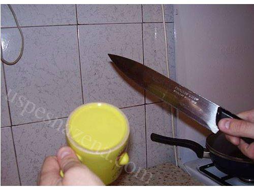 Kako brzo i lako naostriti kuhinjski noz.