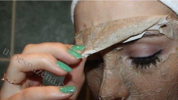 domaca maska za masnu i problematicnu kozu lica