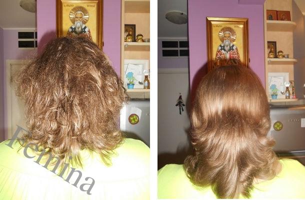 Domaće maske sa želatinom sa efektom laminacije za sve tipove kose.