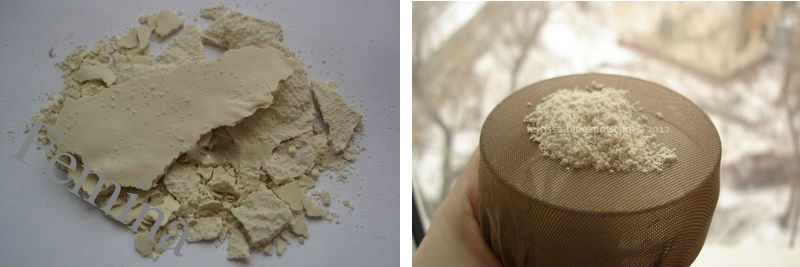 Prirodni puder za lice u prahu od ovsenih pahuljica