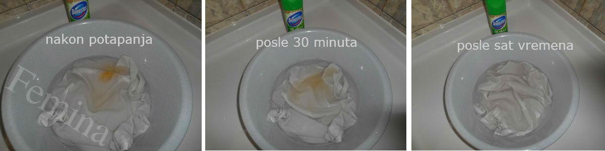 Kako spasiti veš koji je nakon pranja pustio boju