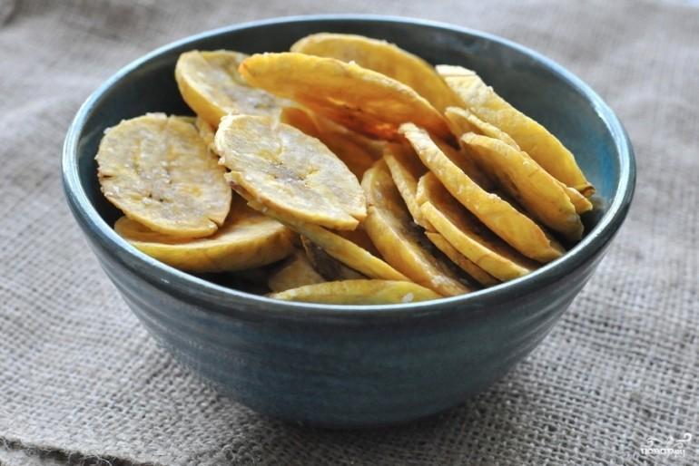 Čips od banana – zdrava i ukusna grickalica. Pripremite sami.