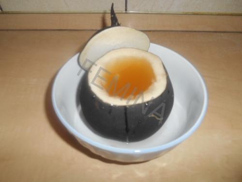 Sirup protiv kašlja sa crnom rotkvom i medom. Recept.