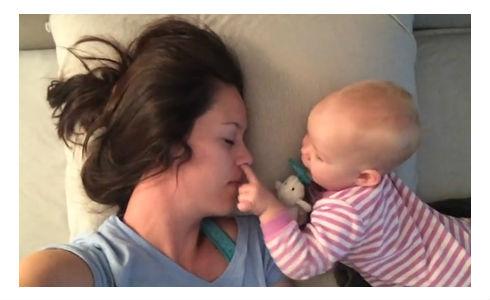 Dobro jutro mama. Buđenje!