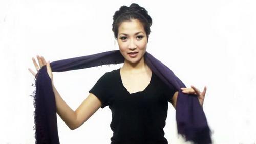 25 načina kako možete vezati maramu, ešarpu ili šal.  Dekorativno, lepo i udobno.