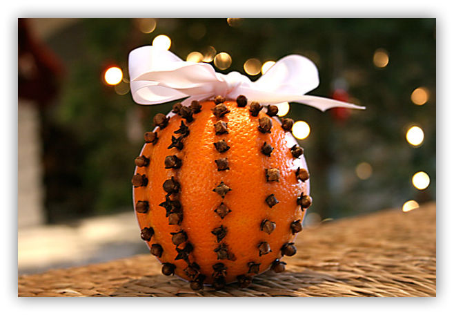 Pomander – prirodni osveživač prostorija. Božićna dekoracija vašeg doma.
