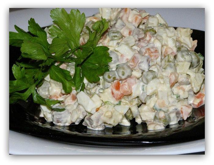 Ruska salata. Neizostavni element svake svečane trpeze