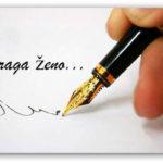 Pismo muža - ženi