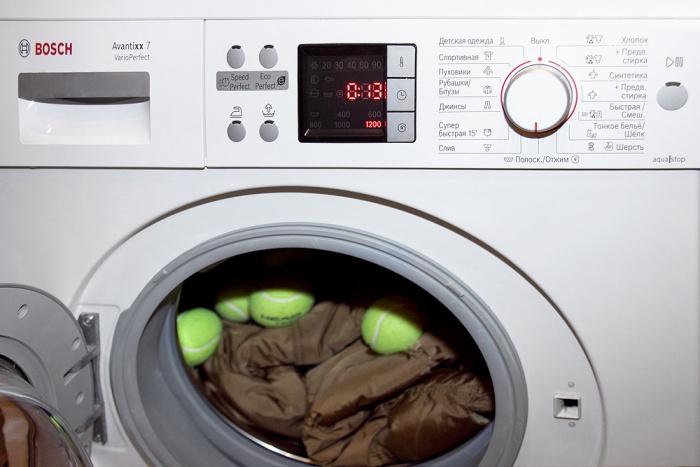 Kako oprati perjanu jaknu u veš mašini: