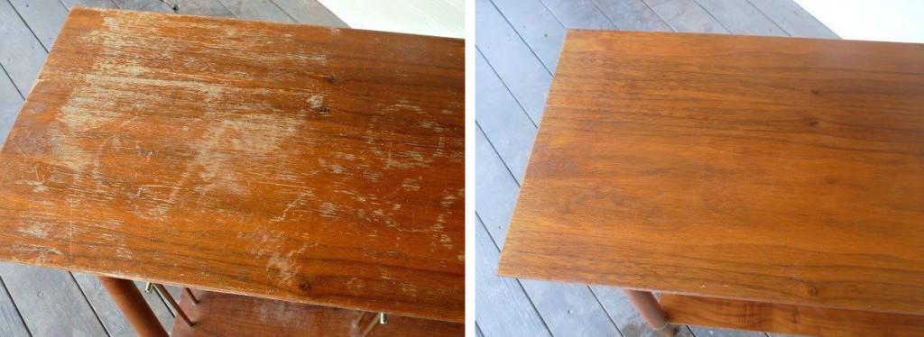 Kako ukloniti ogrebotine na drvenom nameštaju