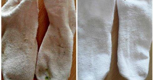 Kako belim čarapama vratiti prvobitnu boju