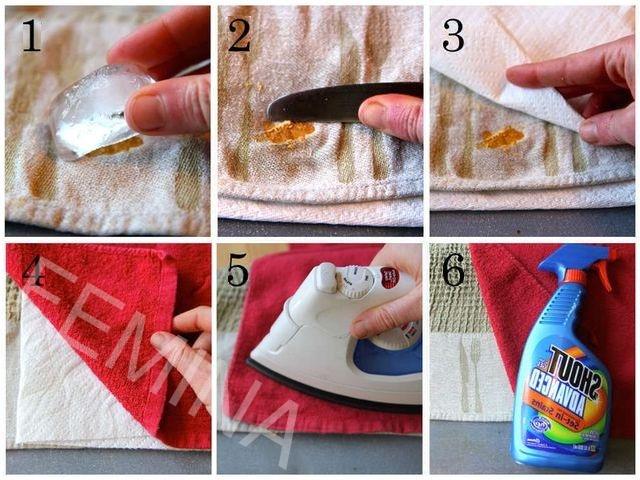 Kako ukloniti fleke od voska i parafina sa odeće, tepiha i nameštaja.