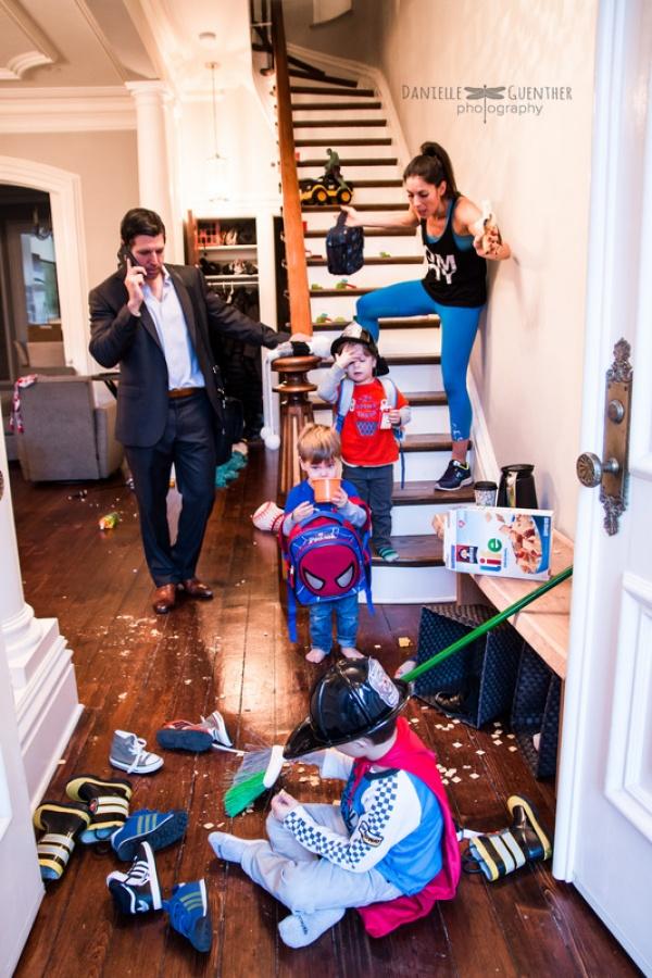 Kako zapravo izgleda porodičan život
