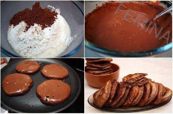 Čokoladne palačinke za10 minuta