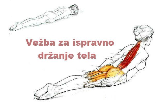 Kako poboljšati držanje tela. Vežba za ispravno držanje tela