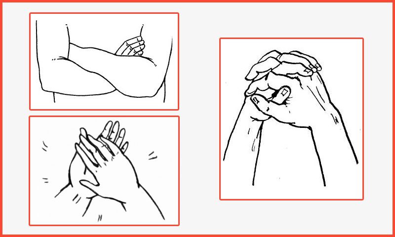 Kako definisati karakter uz pomoć prstiju.