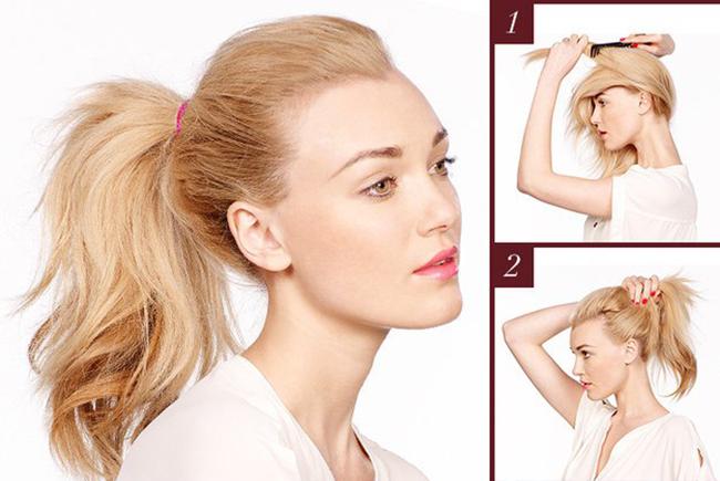 10 načina da vežete konjski rep. Brza frizura za sve prilike