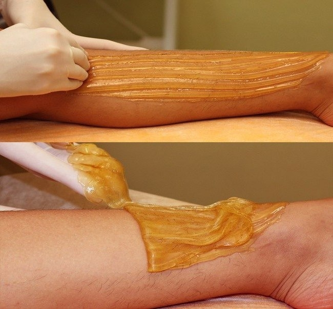 Egipatska depilacija. Depilacija šećernom pastom