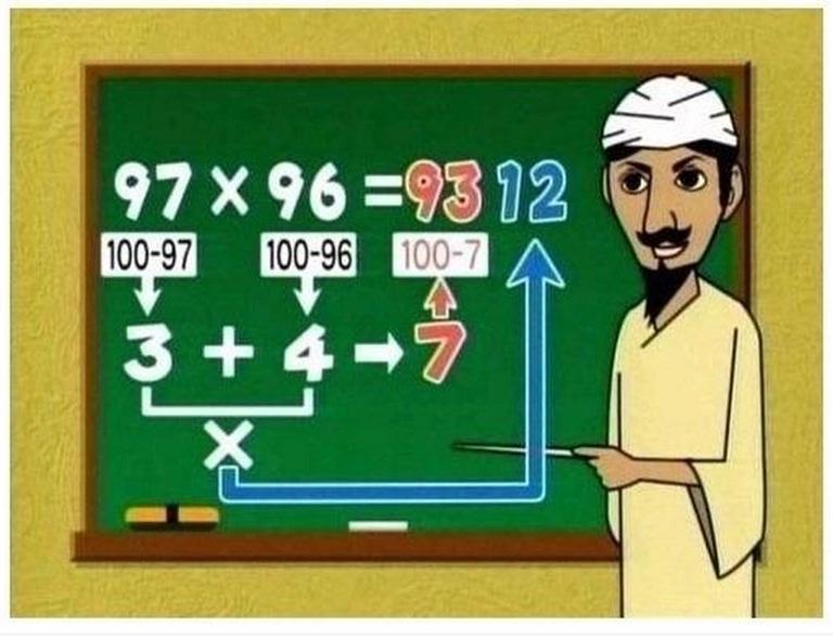 Kako množiti velike brojeve u glavi