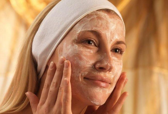 Maske za lice od kvasca