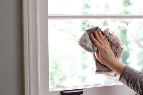 Domaće sredstvo za pranje prozora i ogledala: