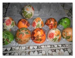Dekupaž uskršnjih jaja