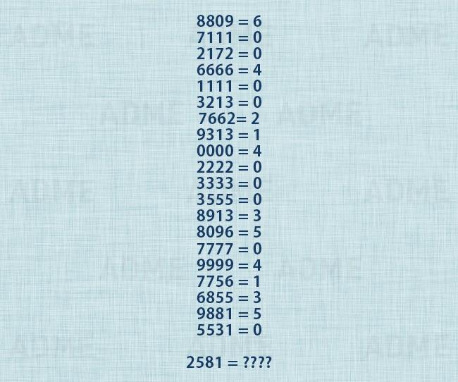 Matematički zadatak za decu