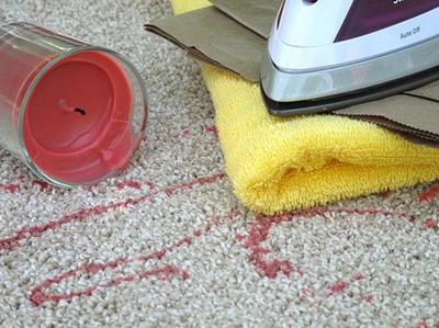 Kako ukloniti fleke sa tepiha