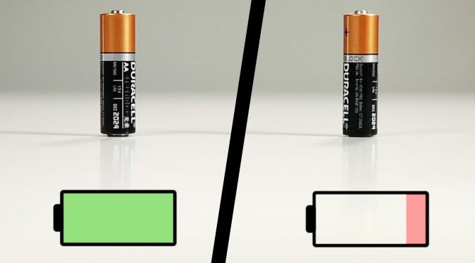 Kako razlikovati pune baterije od praznih