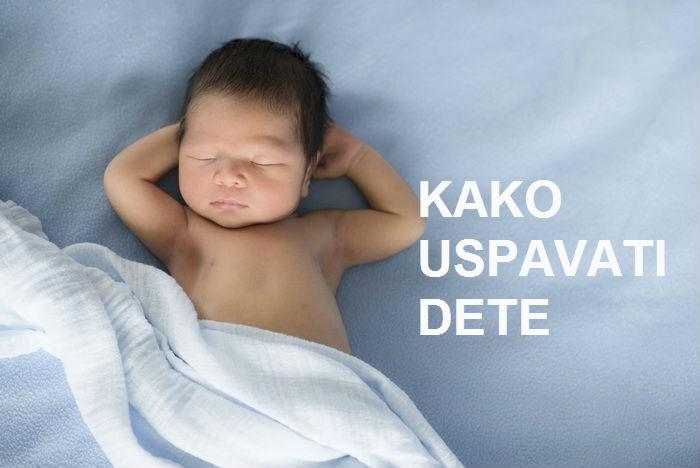 Kako uspavati dete za manje od jednog minuta!