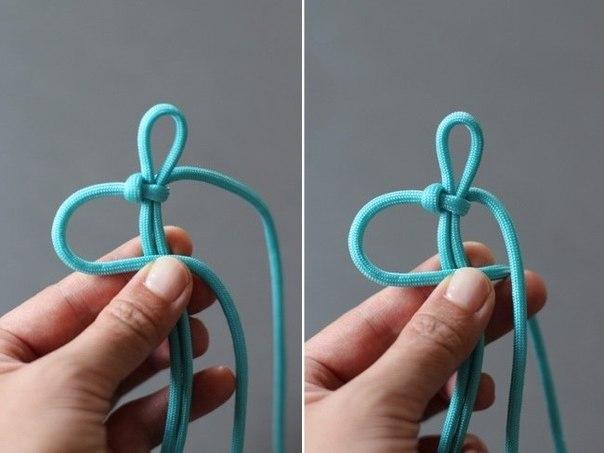 Moderna, ručno pletena narukvica