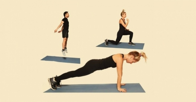 10 vežbi koje će dovesti vaše telo u idealnu formu.