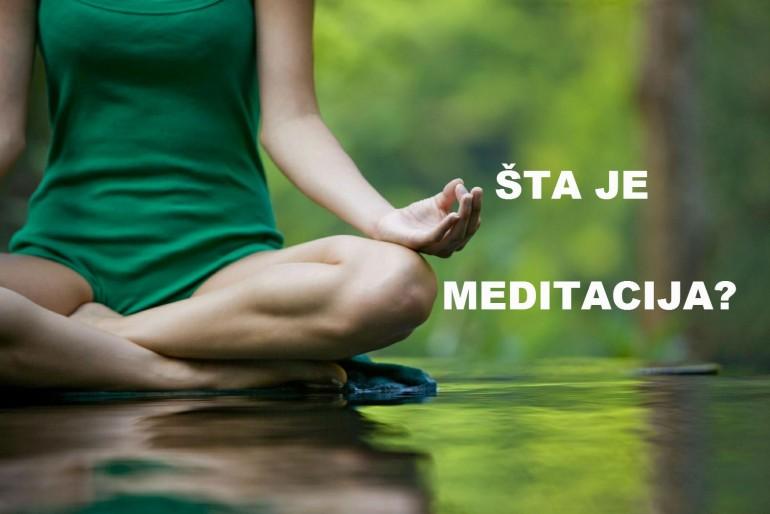 Meditacija – I deo