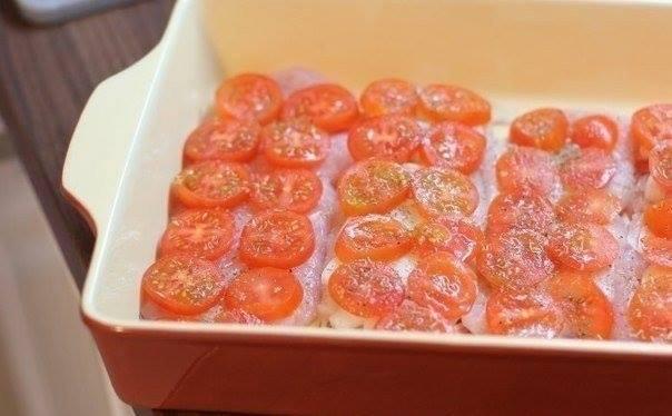 Piletina sa paradajzom i sirom