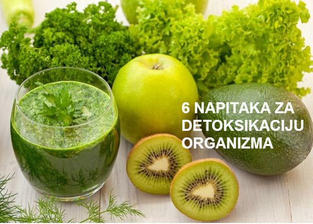 Šest zelenih napitaka za čišćenje organizma.