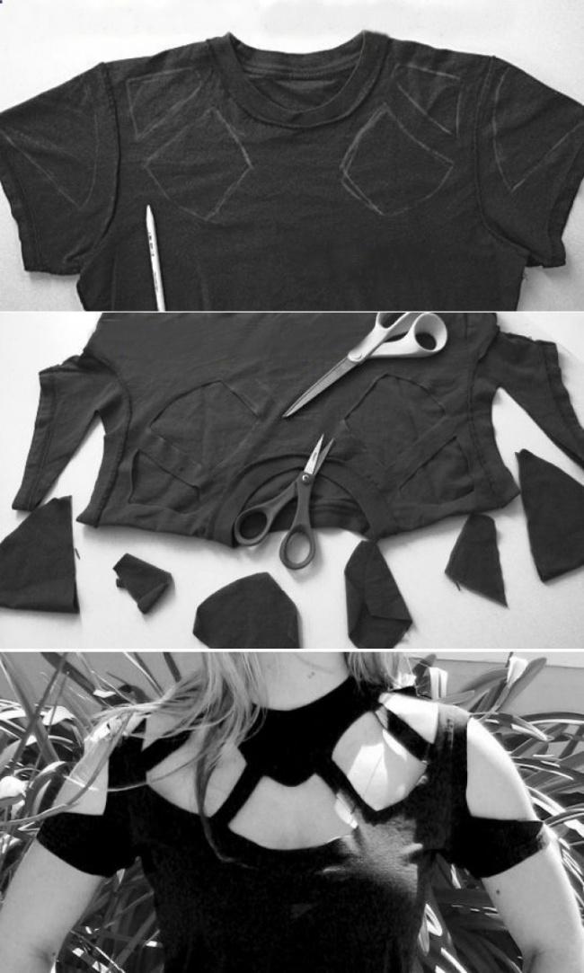 prepravka stare majice