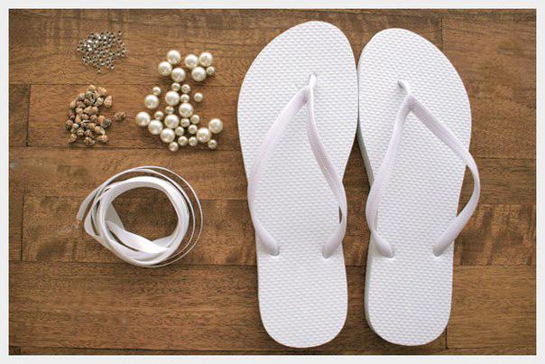 Pretvorite obične japanke u elegantne moderne papuče