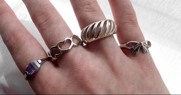 Kako pravilno nositi prstenje.