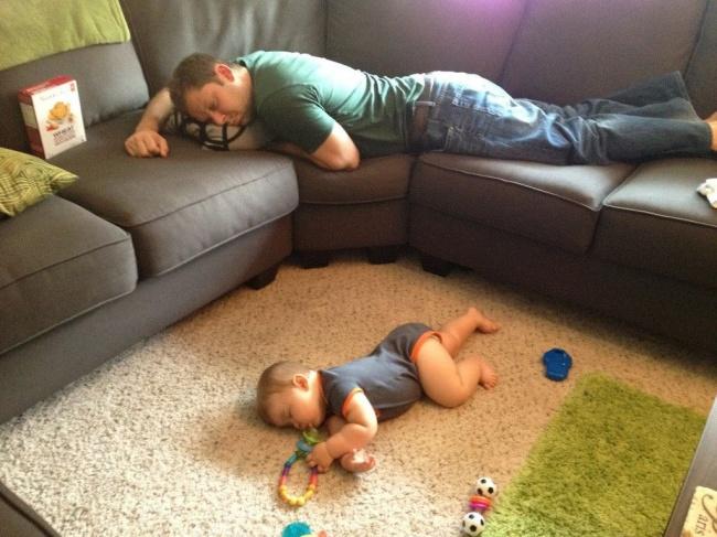 Deca mogu zaspati na svakom mestu