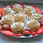 Ruže od jabuka - fantastičan desert!